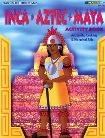 Activity Book Maya Aztec Inca