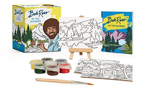 Book : Bob Ross By The Numbers (miniature Editions) - Ross,.