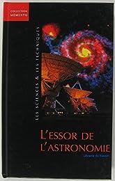 L' essor de l'astronomie
