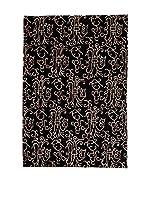 RugSense Alfombra Soft Nepal Negro/Beige 300 x 200 cm