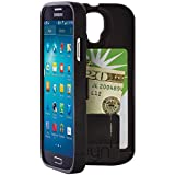 EYN (Everything You Need) Protective Case with Built-In Storage for Samsung Galaxy S4 - Black