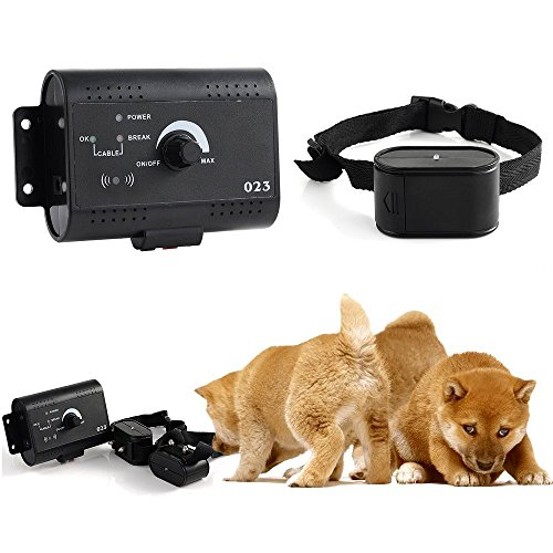 Lbrno 2014 Latest Underground Waterproof 2 Dogs Shock Collar Electric Dog Fence Fencing System Up To 5000M Remote Control Shock Training Collar