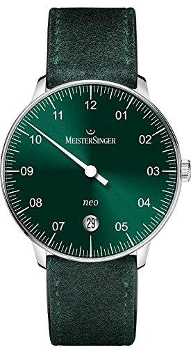 MeisterSinger Neo Reloj con sólo una aguja Clásico & sencillo