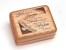 Single Deck Card Box - Serenity Courage Wisdom