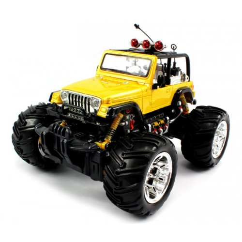 Electric Full Function Remote Controlled Jeep Wrangler with Top Off
