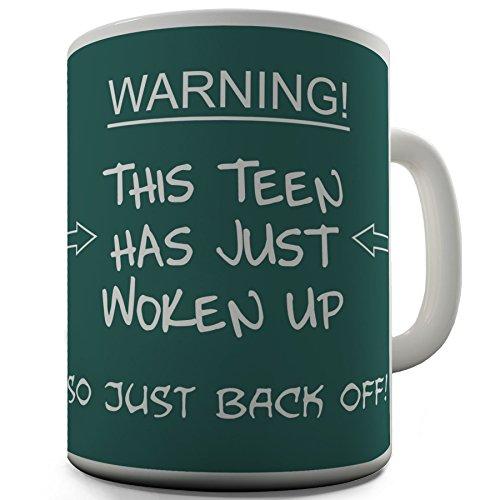 Teen Woken Up Funny Novelty Design Gift Tea Coffee Office Ceramic Mug