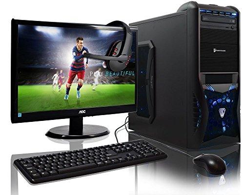 GAMING-PC-ADMI-con-monitor-tastiera-mouse-e-cuffie-AMD-A6-6400k-CPU-la-casa-la-famiglia-multimedia-Gaming-PC-con-Platino-garantito-veloce-AMD-41GHz-CPU-dual-core-con-Radeon-HD-8470D-la-grafica-Gigabyt