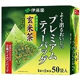 伊藤園 プレミアムティーバッグ 抹茶入り玄米茶 50袋