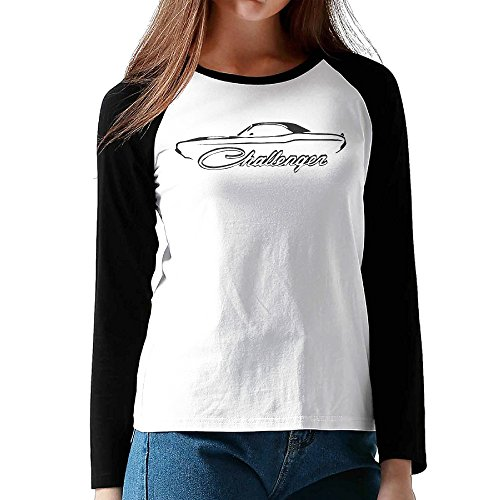 womens-ladies-1970-74-dodge-challenger-long-sleeve-personalized-raglan-shirts