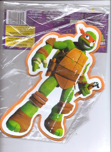 Teenage Mutant Ninja Turtles Foam Wall Decoration (Standing with Weapon in Left Hand)