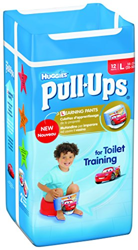Huggies - Pannolini Pullup Boy 5 Large, confezione da 12