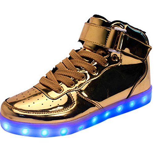 Couple-Women-High-Top-USB-Charging-LED-Shoes-Flashing-Sneakers-Fashion-7-Color-mens-shoes