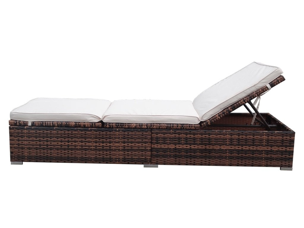 rattanliege sonnenliege online bestellen. Black Bedroom Furniture Sets. Home Design Ideas
