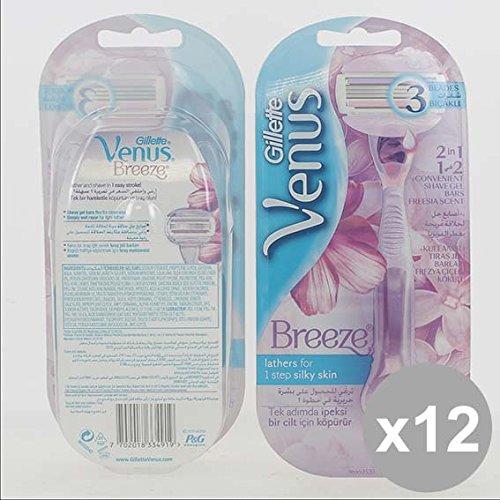 Set 12 GILLETTE Venus Breeze Rasoio 2Up Rasatura e depilazione
