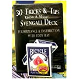 30 tricks & Tips with a Svengali Deck DVD, Includes Bicycle Deck by Us Playing Cards- Easy Magic Tricks