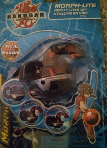 Bakugan Battle Brawlers Morph-lite: Delta (Evolved) Dragonoid Darkus (Black) - 1