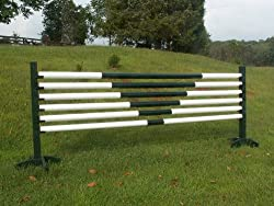 6-12ft V Design Rails/Poles Wood Horse Jumps