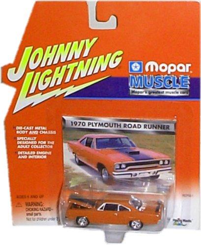 Johnny Lightning - Mopar Muscle - 1970 Plymouth Road Runner (Reddish Brown)