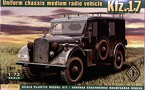 Véhicule radio allemand Kfz.17