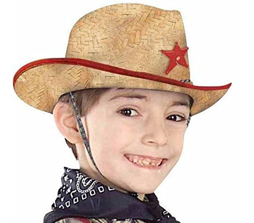 Forum Child Straw Cowboy Hat