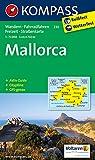 Mallorca: Wander-, Rad-, Freizeit- und Straßenkarte mit Aktiv Guide und Stadtplan Palma de Mallorca 1:8500. GPS genau. 1:75000 (KOMPASS-Wanderkarten)