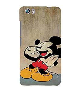 EPICCASE Funny mouse Mobile Back Case Cover For Micromax Canvas Fire 4 A107 (Designer Case)