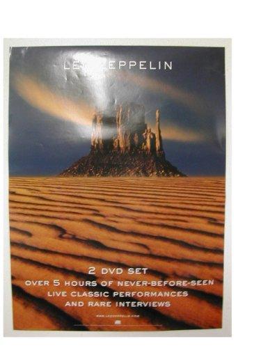 Led Zeppelin 2 Sided Promo Poster