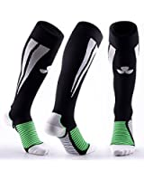 SAMSON® COMPRESSION SPORTS SOCKS FOR FOOTBALL RUGBY FITNESS RUNNING SPORT GYM MENS WOMENS