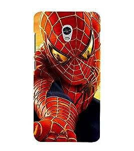 printtech Spider Red Design Back Case Cover for Lenovo Vibe P1