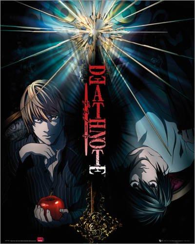 Poster Death Note - duo - manifesto risparmio, cartellone XXL