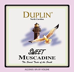 NV Duplin Wine Cellars Sweet North Carolina Muscadine 750 mL