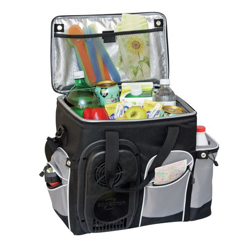 Koolatron 26-Quart Soft-Sided Electric Travel Cooler, Black (Koolatron Car Cooler compare prices)