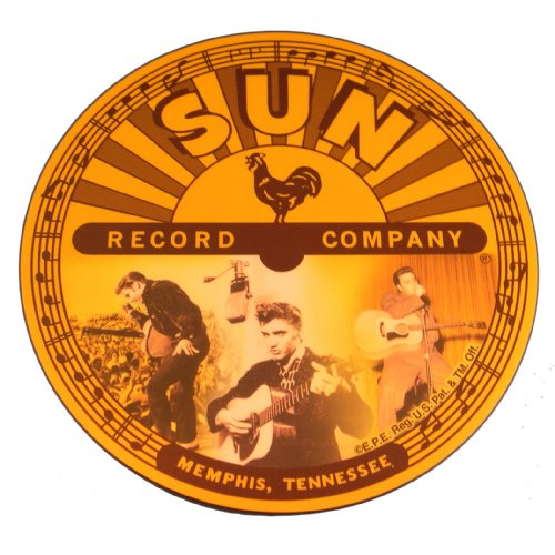Elvis & Sun Records Logo Mouse Pad