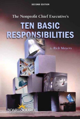 Nonprofit Chief Executive's Ten Basic Responsibilities