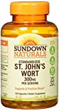 Sundown Naturals Standardized St. John's Wort Capsules 150 ea