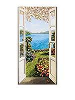 Artopweb Panel Decorativo Del Missier Giardino Fiorito 50x100 cm Multicolor