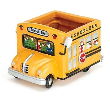 School Bus Planter