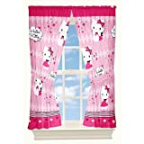 Hello Kitty Sweet and Sassy Window Drapes