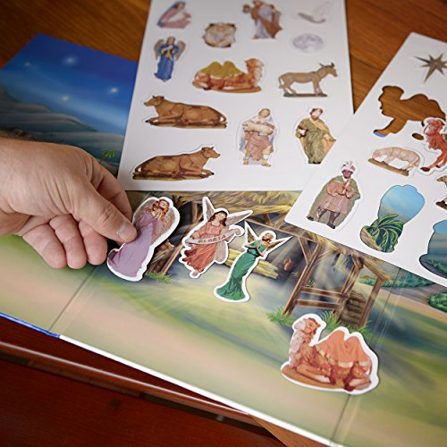 Kurt Adler The Story of Christmas Interactive Magnetic Advent Book