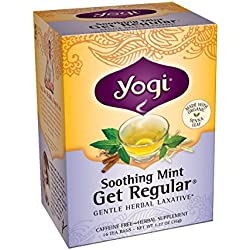Yogi Teas, 16 Tea Bags (Pack of 6), Soothing Mint Get Regular