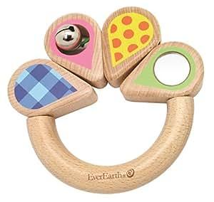 Amazon.com : EverEarth anillo que agarra con Flores : Baby