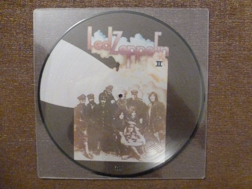 33T.LP.LED ZEPPELIN.II.PICTURE DISC.