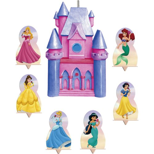 Disney Princess Molded Candle Set