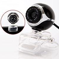 TOOGOO R USB 50.0M HD Webcam Camera Web Cam With Mic For Desktop PC Laptop Computer Black