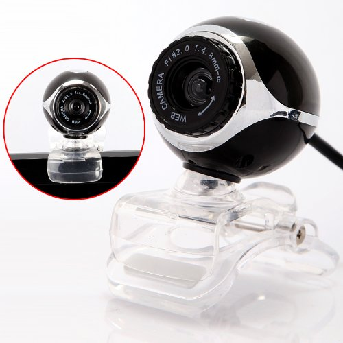 TOOGOO R USB 50.0M HD Webcam Camera Web Cam With Mic For Desktop PC Laptop Computer Black