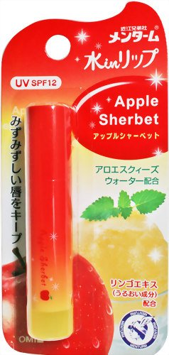 メンターム 水inリップS アップル 3.5g
