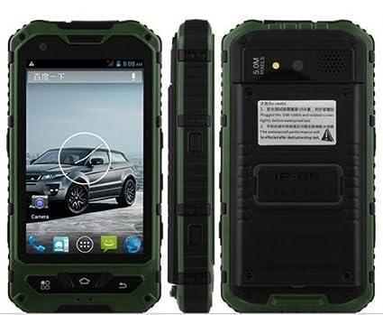 4 pouces IP67 A8 3G étanche, antichoc, antipoussière Smartphone Android 4.2 Dual Core 1.2Ghz Dual Sim IPS capacitif GPS de l'écran 5.0MP caméra + MaxAnts stylo capacitif (gratuit)
