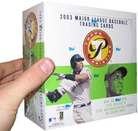 2003 Topps Pristine Baseball HOBBY Box – 5P8C