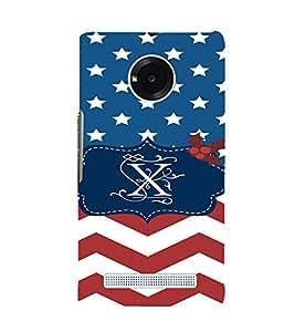 EPICCASE Repeated design Mobile Back Case Cover For YU YUNIQUE (Designer Case)
