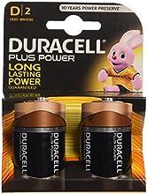 Comprar Duracell Plus Power - Pack de 2 pilas alcalinas de 1.5 V